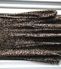 Tigrasta bluza dugih rukava