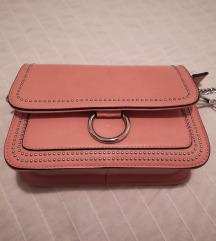 Roza torbica za u ruku ili preko ramena