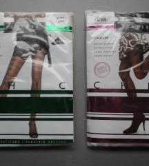 NOVO Lot 3 - 4 čarape 18 i 70 DEN Jadran s uzorkom