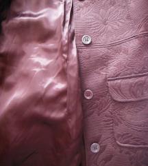 Smeđi batik kaput 38