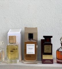 Parfemi ELIE SAAB, ZARA, VC&A, TOM FORD, GAULTIER