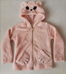 Flis jaknica medo, H&M, vel. 122-128