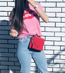 Crvena mini torbica