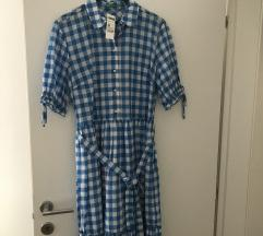 Benetton Karirana haljina