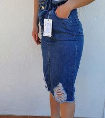 Traper suknja novo