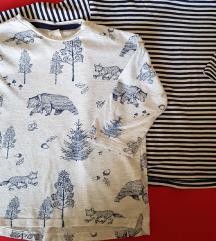 Dječiji LOT majice 3/4 rukav organski pamuk
