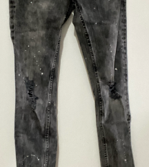 Sivi jeans zara