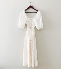 H&M krem haljina