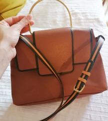 Zara smeđa torba
