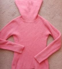 Vunena roza majica