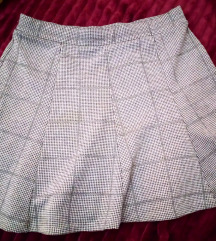 Bershka karirana suknja M