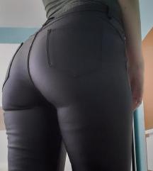 Kožne hlače + majica -  SADA 100 kn