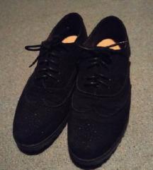 Roberto crne cipele oxfordice