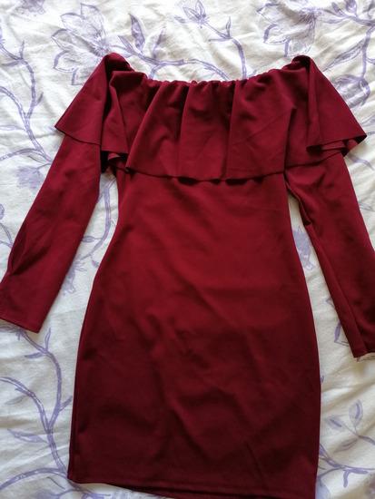 Haljina s dugim rukavima