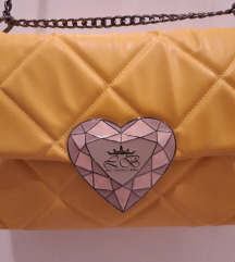 My lovely bag - žuta torbica - eko koža