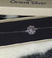 Silver for you narukvica botun 925