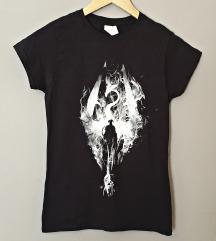 Ženska kratka majica print Skyrim
