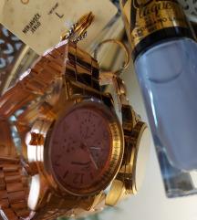 Rosegold ručni sat i prsten, lot