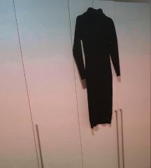 Uska crna pletena haljina REZERVIRANA