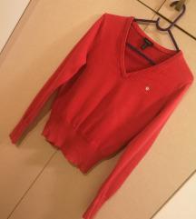 Gant crveni pulover S