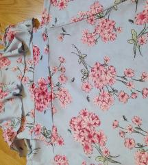 maxi haljina na cvjetiće