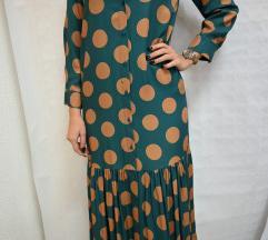 Midi haljina s točkicama