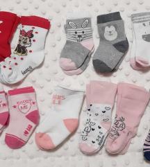 Lot čarapica 13-15