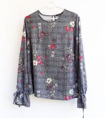 Primark karirano-cvjetna bluza