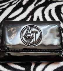 Original crni Armani jeans  novčanik