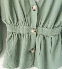 Zara lanena bluza
