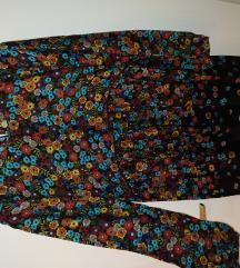 Zara mini floral haljina S