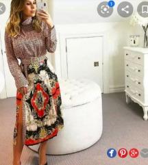 NOVO Zara suknja (s pt)