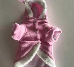 Roza jaknica za psa