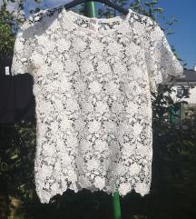 Čipkasta majica / bluza