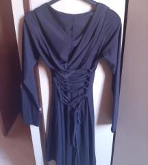 Gothic haljina s kapuljačom