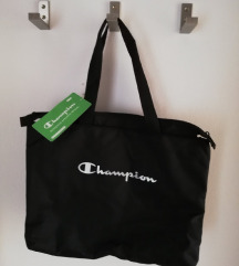 Champion tote bag crna