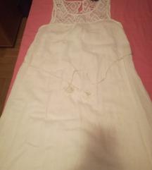 Esmara duga, bijela haljina