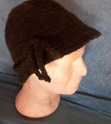 retro pleteni šešir