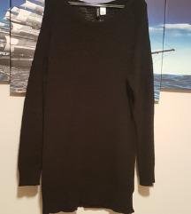 H&M haljina/tunika crna