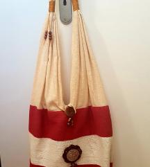 Etno krpena torbica