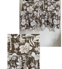 Dječja smeđa suknja