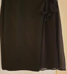 Fina svečana crna suknja,