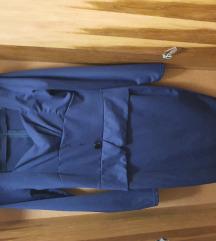 Vintage modra haljina.