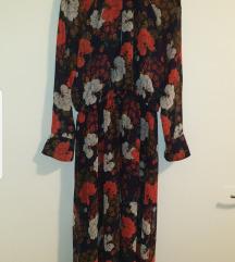 Zara midi  haljina L