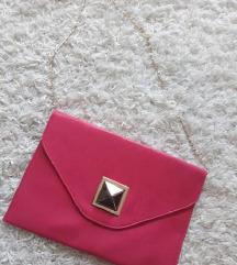 Pismo torbica fuksija boje