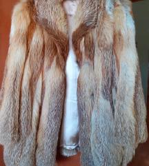 Krznena bunda crvena lisica