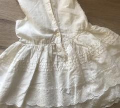 H&m baby haljina za krstenje 6-9m