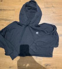 adidas originals cropped hoodie M