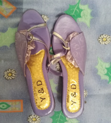 Sandale ljubičaste
