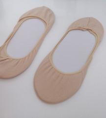 Lot 2 para novih pamucnih stopalima za balerinke